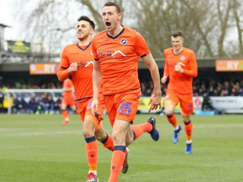 AFC Wimbledon 0 Millwall 1: Wallace knocks out West Ham conquerors