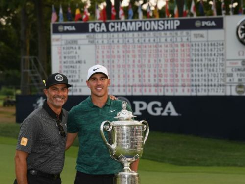 'We knew what was going on': Koepka bests Woods in PGA golf championship