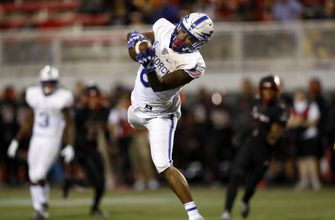 Air Force gets first conference win 41-35