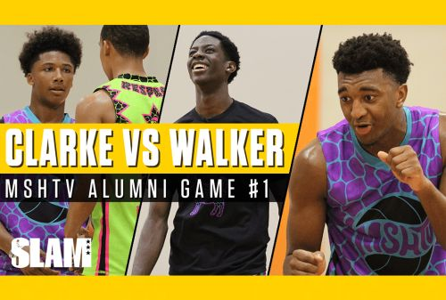 Kyree Walker and Terrence Clarke Lit UP the MSHTV Alumni Game‼️