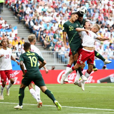 Denmark, Australia share the spoils