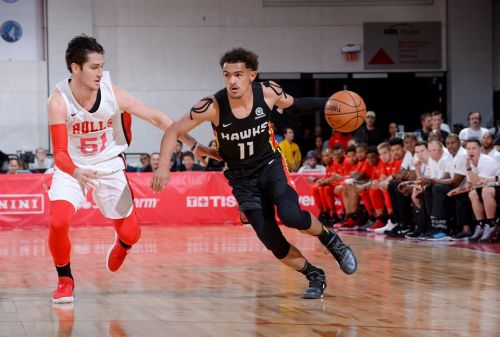 Trae Young hits SEVEN 3s in 24-Point Summer League Performance ☔️