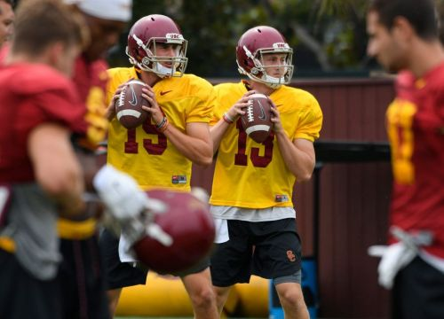 USC's backup quarterback position unsettled as it prepares for UCLA