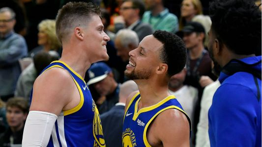 Steve Kerr on Jonas Jerebko's game-winning tip-in: 'That's the moment where he's one of us'