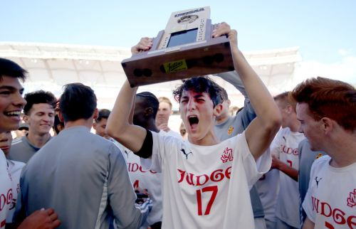 Judge Memorial rallies for thrilling 3-2 win over Summit Academy to repeat as 3A boys soccer champs
