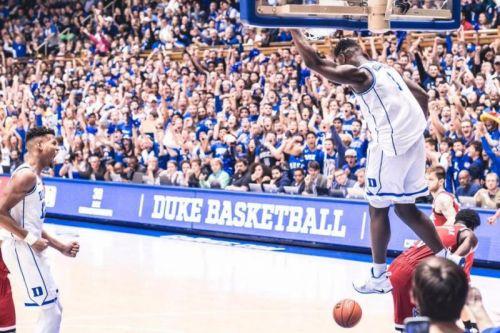 Duke-UNC tickets reaching Super Bowl prices due to Zion Williamson