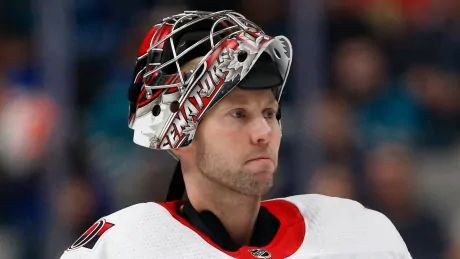 Senators part ways with longtime goalie Craig Anderson