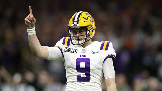 Joe Burrow delivery of LSU's perfect season came with perfect timing
