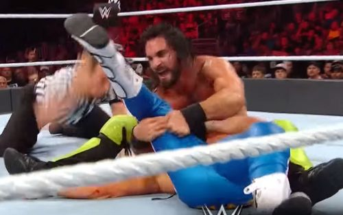 A heart-stopping finish couldn't save a weird night of WWE