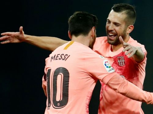 Messi inspired Barca make easy work of Espanyol