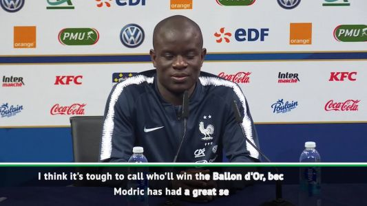 Modric or French player will win Ballon d'Or - Kante