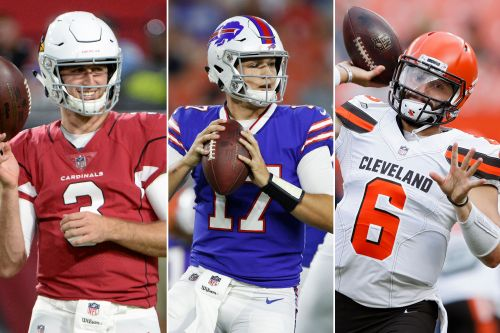 Josh Allen is the closest to Sam Darnold in rookie QB races