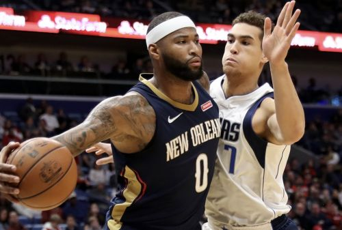 Report: Mavs Targeting DeMarcus Cousins in Free Agency 👀