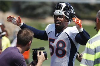 Broncos' Miller itching to hit the field