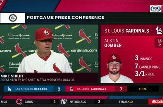 Mike Shildt on Austin Gomber: 'As far as makeup and trust, we believe in him'