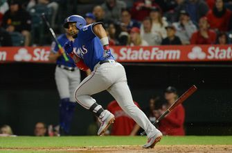 Elvis Andrus returns, Rangers fall to Angels in 9th