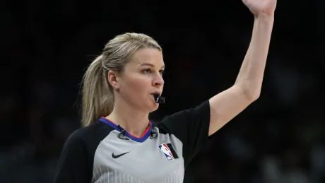 Sago, Schroeder will be first 2 women in NBA history to officiate same game Monday
