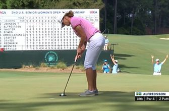 Check out the best moments from Round 4 of the US Senior Women's Open