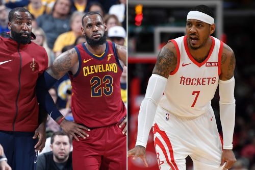 LeBron James isn't to blame for Carmelo Anthony exile: ex-teammate