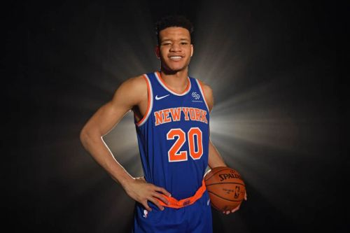 Kevin Knox: 'People Are Sleeping' on the Knicks