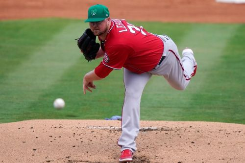 Less than 2 weeks post-surgery, Lester makes Nationals debut