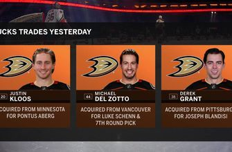 Breaking down the three deals made by the Ducks   DucksLive
