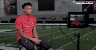 WATCH: Georgia football WR Demetris Robertson breaks silence, Kirby Sm