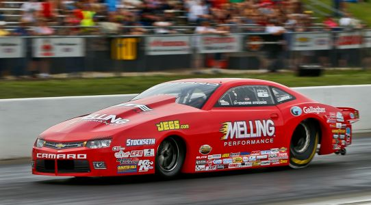 Clay Millican tops qualifying in NHRA Heartland Nationals