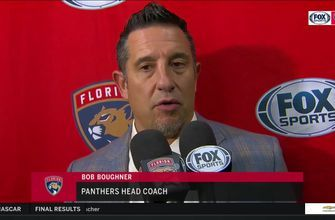Bob Boughner on importance of getting contributions across whole lineup after loss