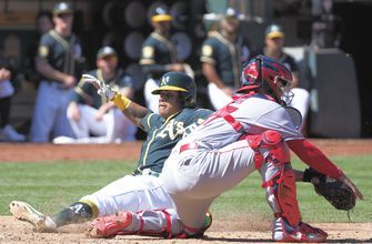 RECAP: Athletics hammer Angels, 21-3