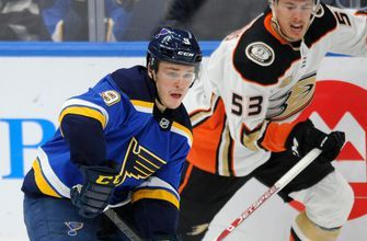 Blues assign Sammy Blais to Rampage