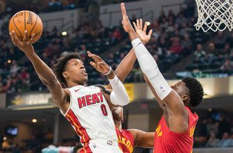 Heat can't recover after Pacers go on 16-0 run in 2nd quarter, fall 99-91 in Indianapolis