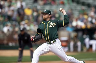 Athletics beat Giants 5-0 in Bay Bridge exhibition series