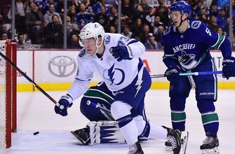 Lightning stand tall, take down Canucks in 5-2 slugfest