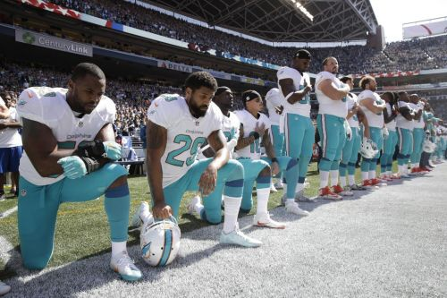 NFL puts national anthem policy on hold until further discussion with NFL Players Association