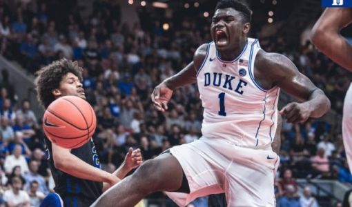Tournoi NCAA:  le duo RJ Barrett - Zion Williamson ne se rate pas