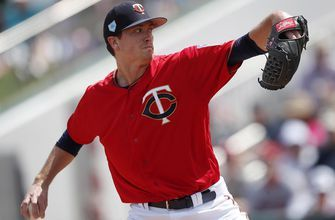 Gibson allows five runs in Twins' 10-6 loss