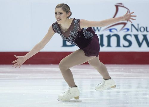 Chartrand golden, Daleman fifth at Canadian figure skating championships