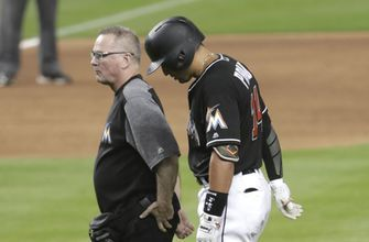 Marlins' Prado goes on DL; Riddle recalled from minors