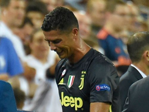 Juventus boss Allegri calls for VAR after Ronaldo red card