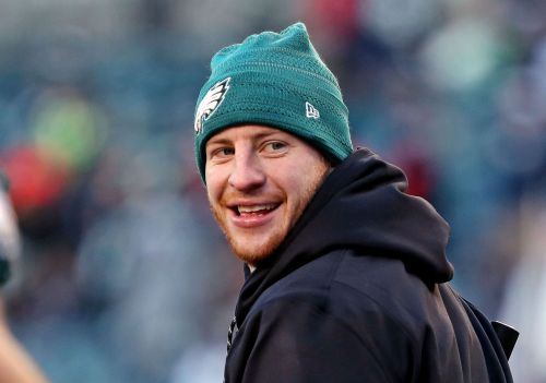Carson Wentz shares touching wedding video