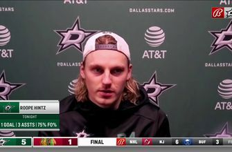 Roope Hintz: 'We have to play like this the rest of the regular season'