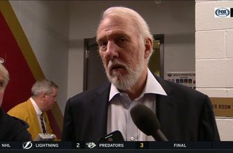 Gregg Popovich: 'We didn't have enough juice to finish it off'