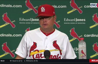Shildt: Pulling Hudson during no-hitter 'wasn't a tough decision at all'