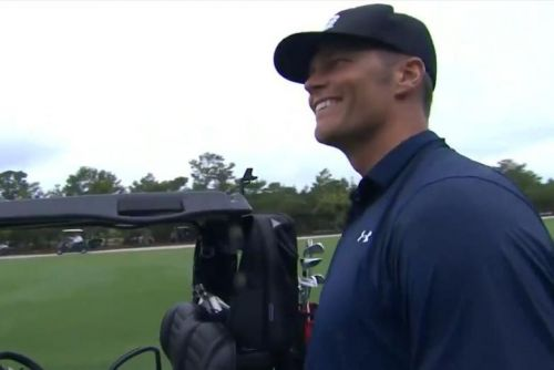 Watch: Tom Brady silences Charles Barkley with incredible birdie on seventh hole