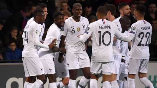 France make short work of Moldova with Griezmann, Pogba wonder-goal