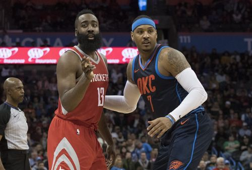 James Harden: Carmelo 'Would Be A Great Acquisition' for Rockets
