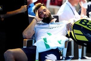 Benoit Paire falls asleep during first round loss to Cameron Norrie in Auckland: Maverick Frenchman adds to his list of on-court shenanigans
