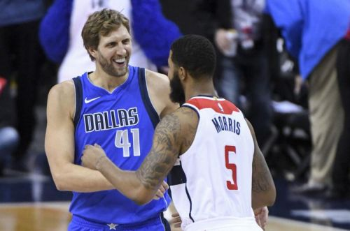 Watch: Dirk Nowitzki passes Wilt Chamberlain on NBA all-time scoring list