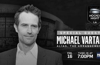 PREVIEW: Actor Michael Vartan joins Hockey Night in LA as Bruins come to town